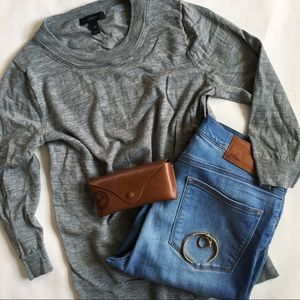 J. C r e w // Tippi Sweater - Grey